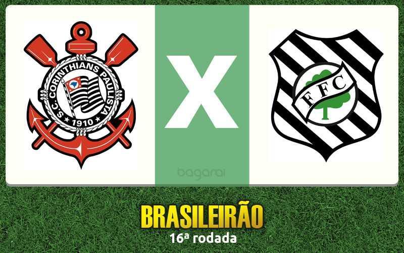 Campeonato Brasileiro 2016: Corinthians e Figueirense empataram em 1 a 1