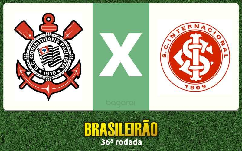Brasileirão 2016: Corinthians vence Internacional na 36ª rodada