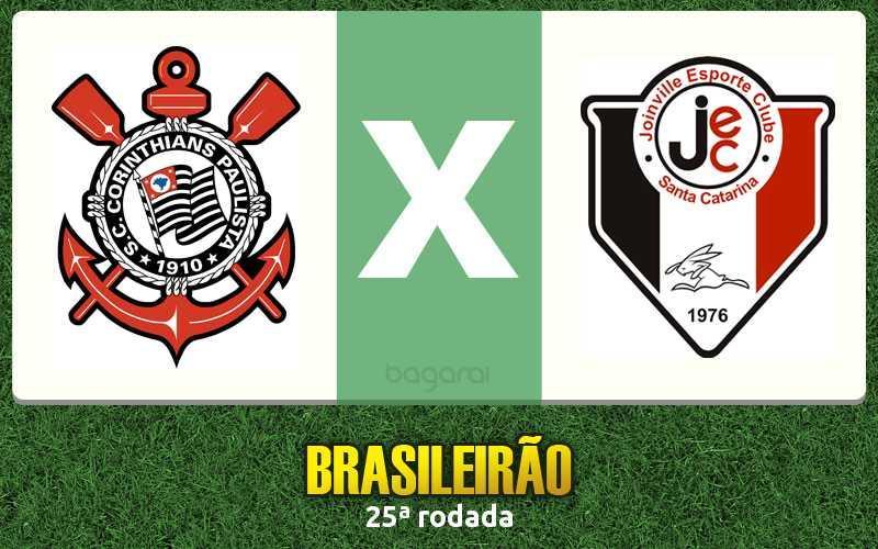 Resultado de Corinthians e Joinville, mantém Timão no topo do Brasileirão 2015