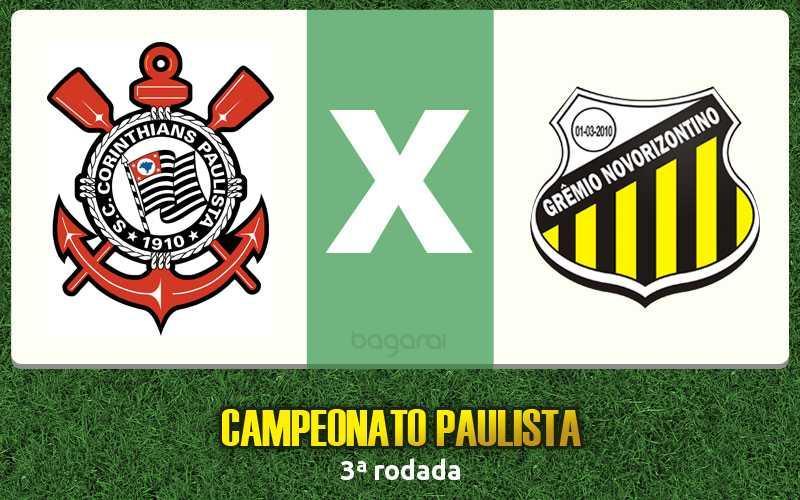 Campeonato Paulista 2017: Corinthians vence Novorizontino por 1 a 0