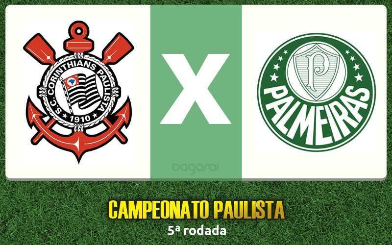 Corinthians vence Palmeiras pelo Campeonato Paulista 2017
