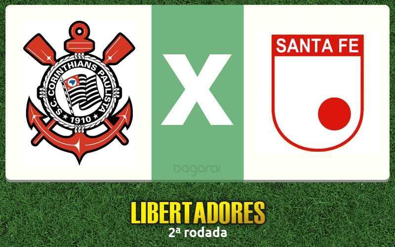Corinthians vence Santa Fe pela Libertadores 2016, Resultado do jogo de hoje