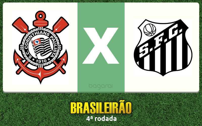 Brasileirão 2017: Corinthians vence Santos na pela 4ª rodada