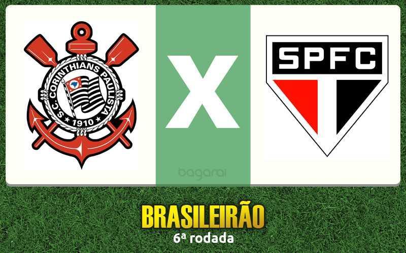 Corinthians vence São Paulo FC pelo Campeonato Brasileiro 2017