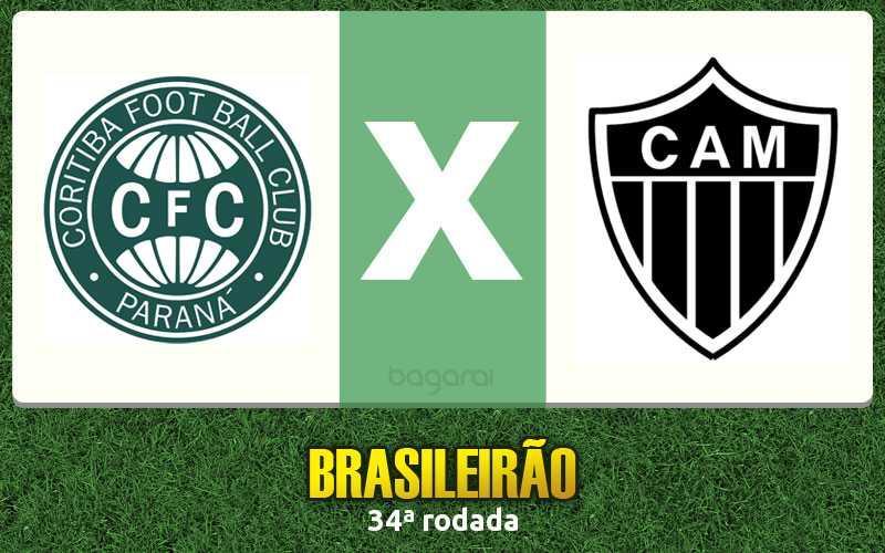 Brasileirão 2016: Coritiba faz 2 no Atlético Mineiro pela 34ª rodada