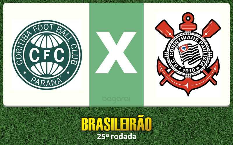 Campeonato Brasileiro 2016: Coritiba e Corinthians empatam em 1 a 1