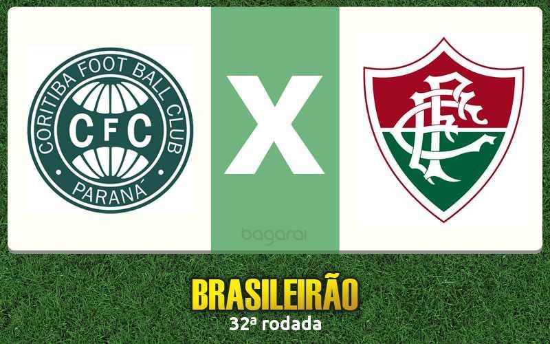 Brasileirão 2016: Coritiba e Fluminense ficam no 1 a 1 pela 32ª rodada