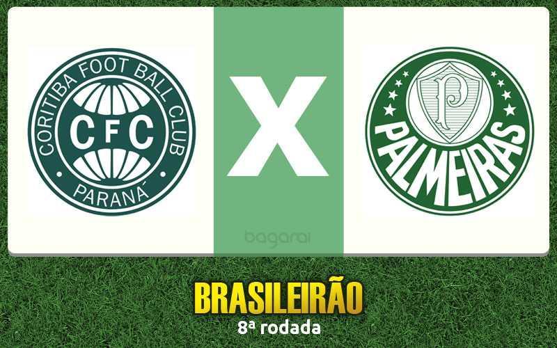 Coritiba e Palmeiras empatam pela 8ª rodada do Brasileirão 2016