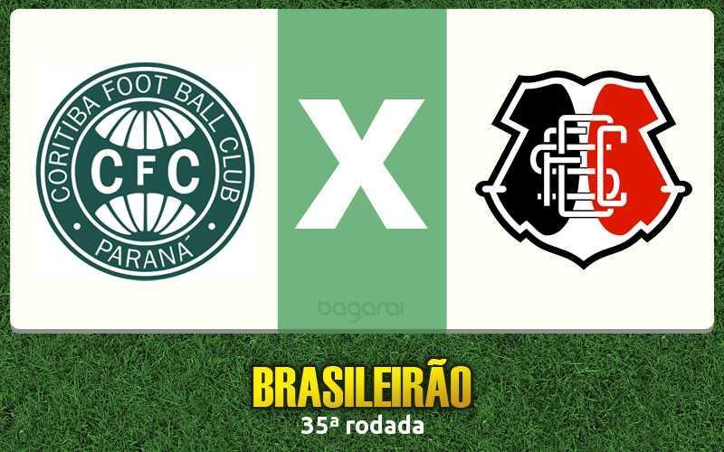 Coritiba vence Santa Cruz pelo Brasileirão 2016 por 1 a 0