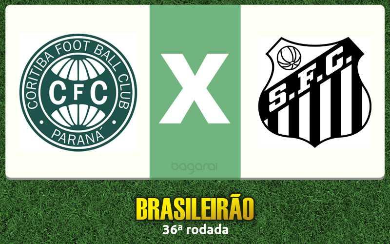 Resultado do jogo: Coritiba vence Santos FC pelo Brasileirão 2015