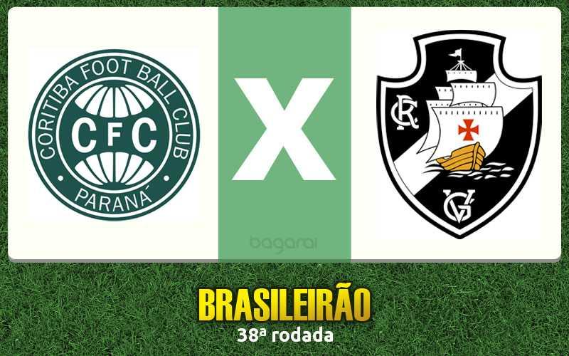 Resultado do jogo entre Coritiba e Vasco da Gama pelo Brasileirão 2015 fica no 0 a 0