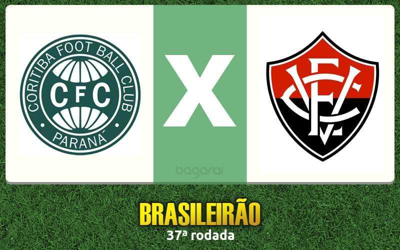 Brasileirão 2016: Vitória vence Coritiba por 1 a 0