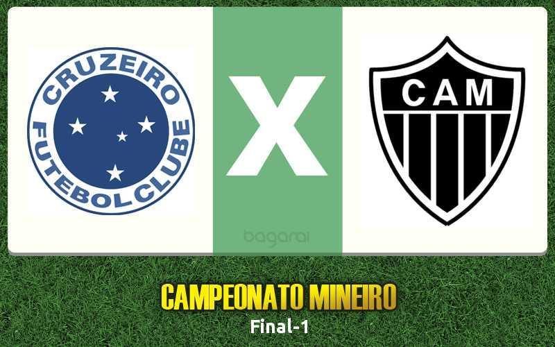 Campeonato Mineiro 2017: primeiro jogo da final entre Cruzeiro e Atlético-MG fica no 0 a 0