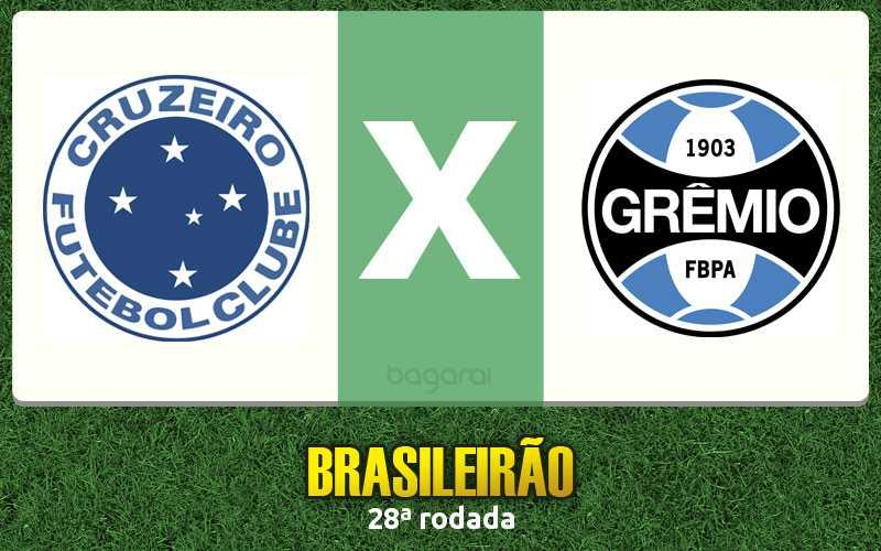 Brasileirão 2016: Cruzeiro ganha do Grêmio na 28ª rodada
