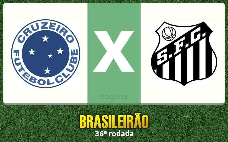 Campeonato Brasileiro 2016: Cruzeiro e Santos empatam em 2 a 2 pela 36ª rodada