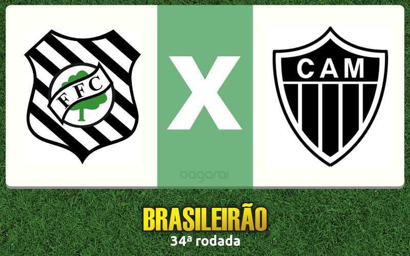 Atlético Mineiro vence Figueirense pela 34ª rodada do Brasileirão 2015, Resultado do jogo