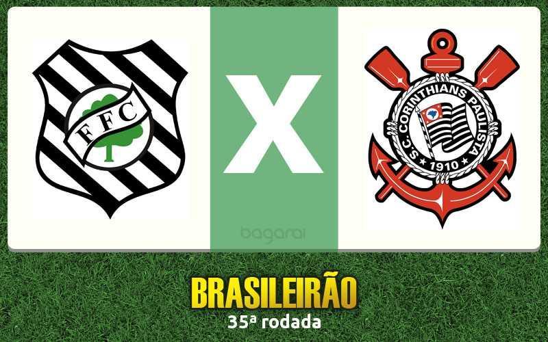 Figueirense e Corinthians empatam em 1 a 1 na 35ª rodada pelo Brasileirão 2016