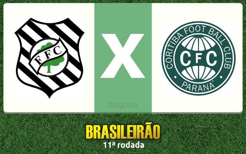 Brasileirão 2016: Figueirense e Coritiba ficam no 0 a 0