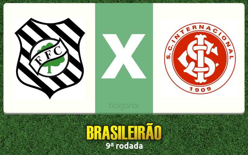 Figueirense vence Internacional na 9ª rodada do Brasileirão 2016