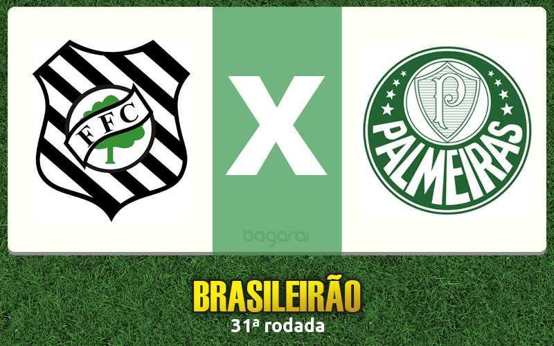 Brasileirão 2016: Palmeiras vence Figueirense na 31ª rodada