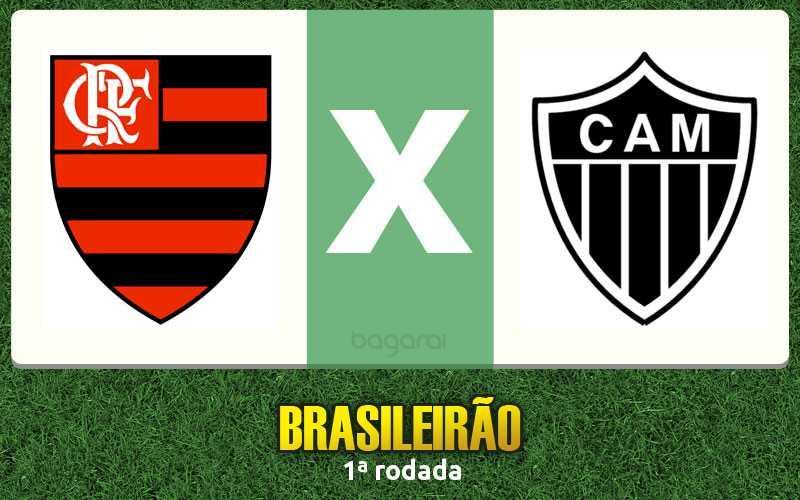 Resultado do jogo Flamengo e Atlético Mineiro pelo Brasileirão 2017 fica no empate
