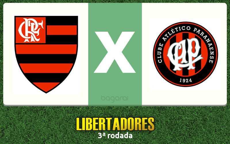 Libertadores 2017: Flamengo vence Atlético Paranaense por 2 a 1