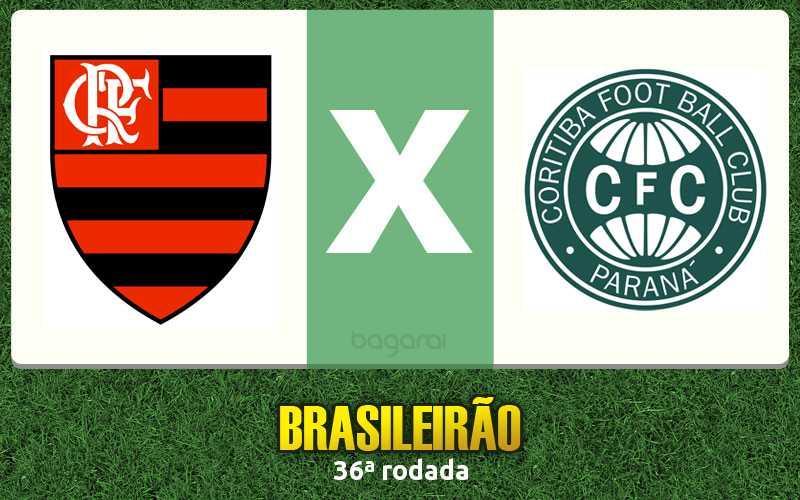 Flamengo empata com o Coritiba pelo Brasileirão 2016 em 2 a 2