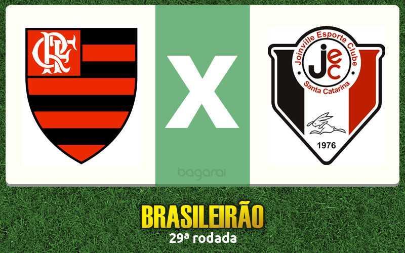 Resultado do jogo: Flamengo vence Joinville pelo Brasileirão 2015