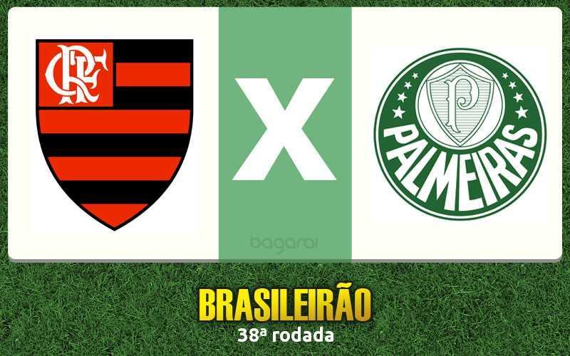 Resultado do jogo de hoje: Palmeiras vence Flamengo pelo Campeonato Brasileiro 2015