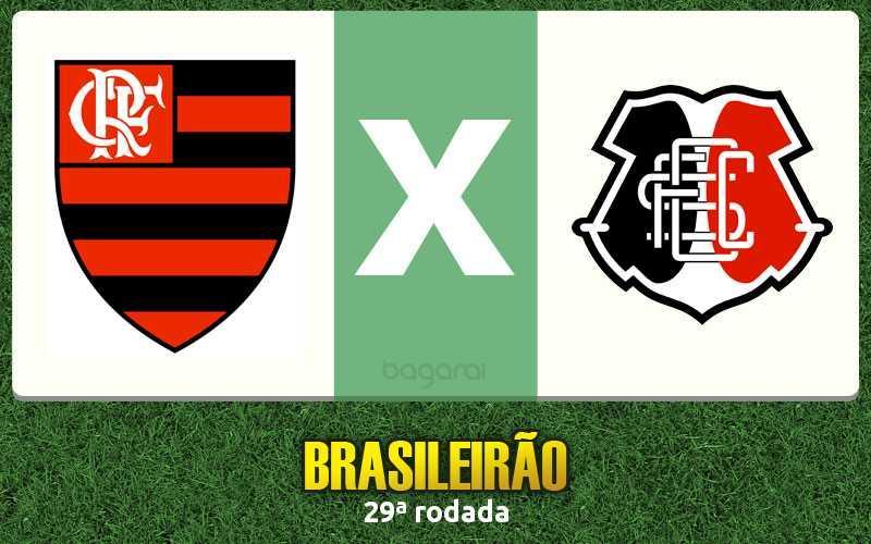Brasileirão 2016: Flamengo faz 3 no Santa Cruz pela 29ª rodada