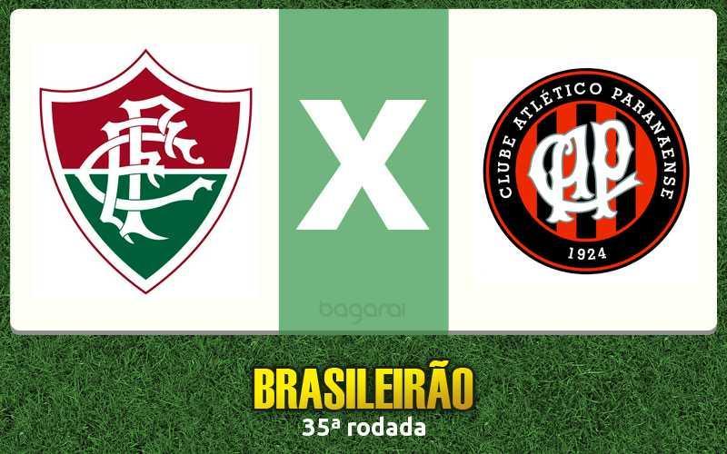 Fluminense e Atlético Paranaense empatam em 1 a 1 pelo Brasileirão 2016 na 35ª rodada