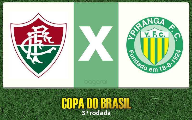 Copa do Brasil 2016: Fluminense e Ypiranga-RS ficam no 1 a 1