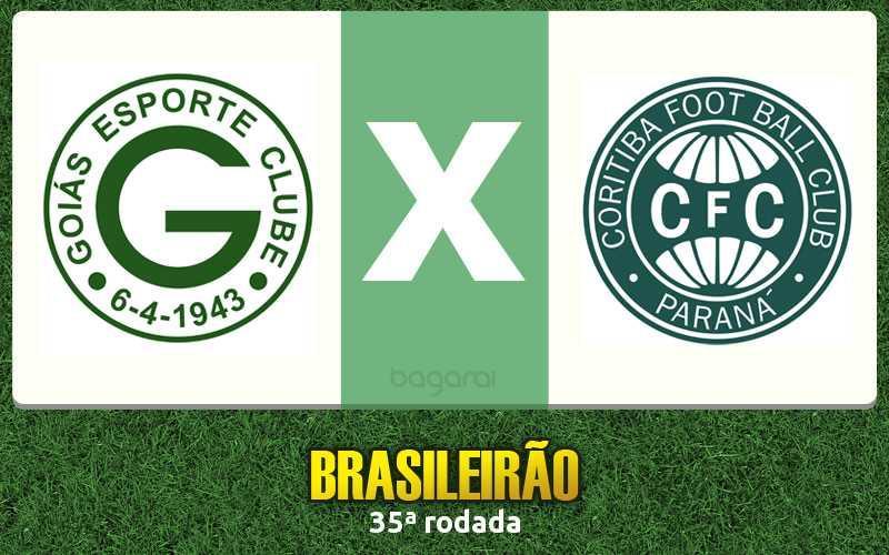 Coritiba vence Goiás pela 35ª rodada do Brasileirão 2015