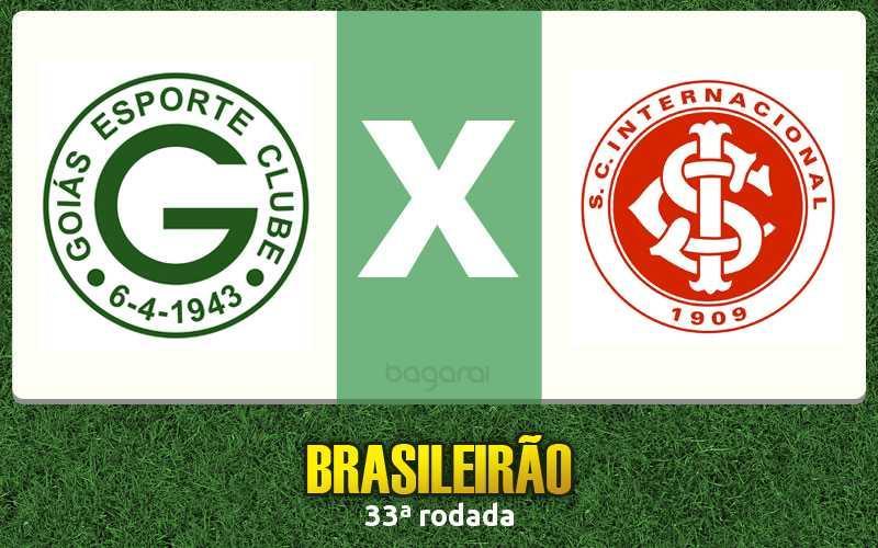 Goiás venceu o Inter de virada pela 33ª rodada do Brasileirão 2015