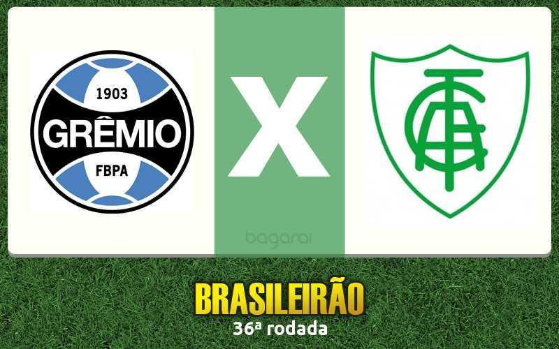 Brasileirão 2016: Grêmio ganha do América-MG por 3 a 0