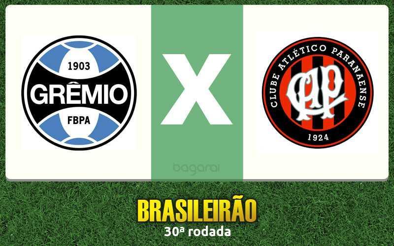 Grêmio marca e vence Atlético Paranaense pelo Brasileirão 2016