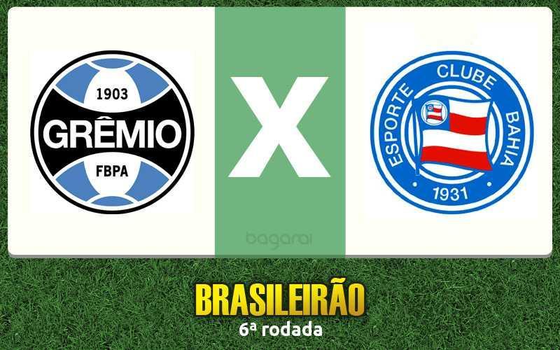 Campeonato Brasileiro 2017: assistir Grêmio e Bahia, acompanhe futebol online