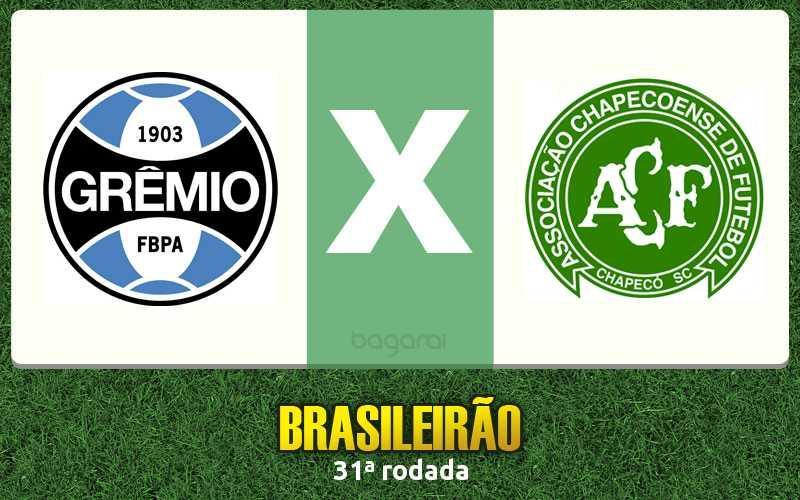 Chapecoense ganhou de virada em cima do Grêmio pelo Brasileirão 2015