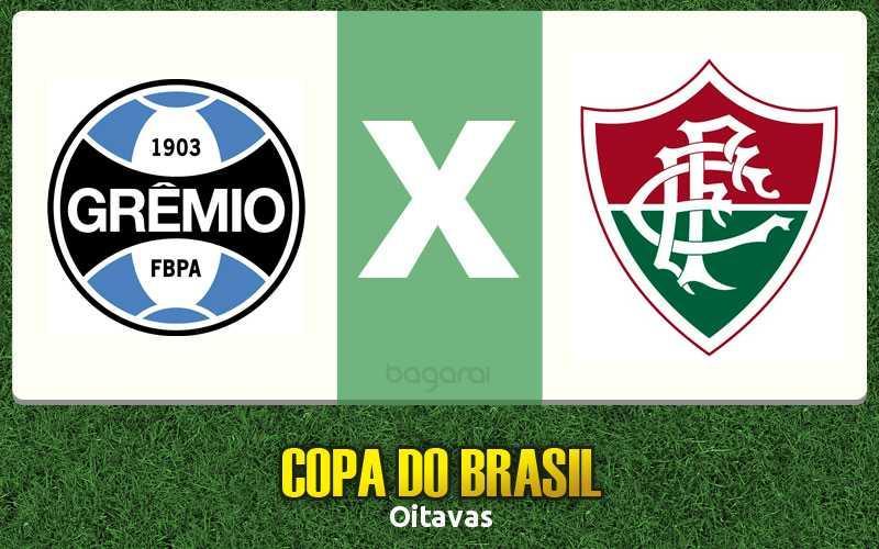 Copa do Brasil 2017: Grêmio vence Fluminense por 3 a 1