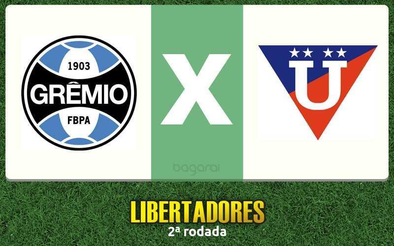 Grêmio goleia LDU pela Libertadores 2016, resultado do jogo