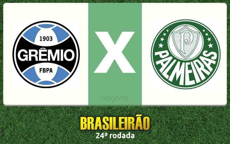 Campeonato Brasileiro 2016: Grêmio e Palmeiras ficam no 0 a 0