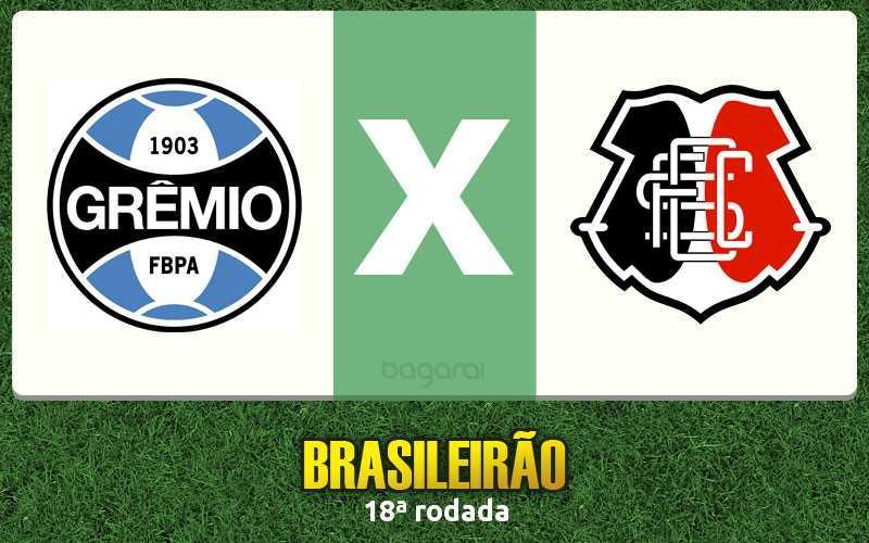Brasileirão 2016: Grêmio e Santa Cruz empataram em 0 a 0