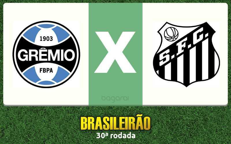 Resultado do jogo: Grêmio vence Santos FC pelo Brasileirão 2015