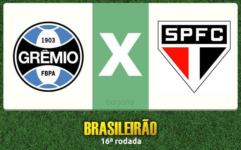 Brasileirão 2016: Grêmio vence São Paulo FC por 1 a 0