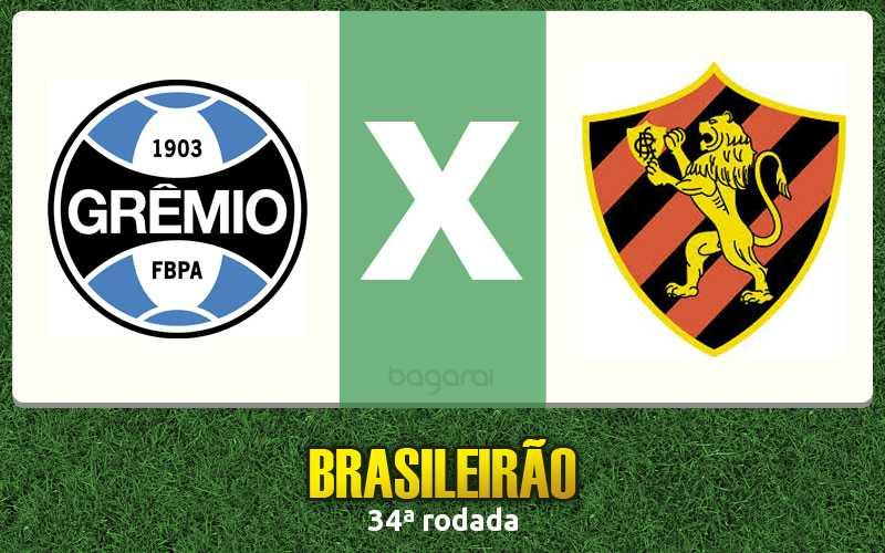 Sport faz 3 no Grêmio pelo Brasileirão 2016 na 34ª rodada