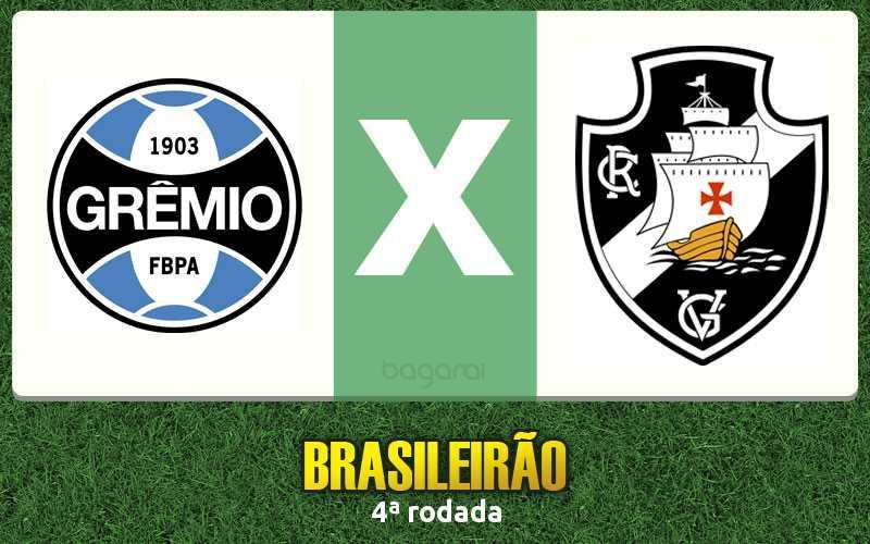 Brasileirão 2017: Grêmio ganha do Vasco da Gama por 2 a 0