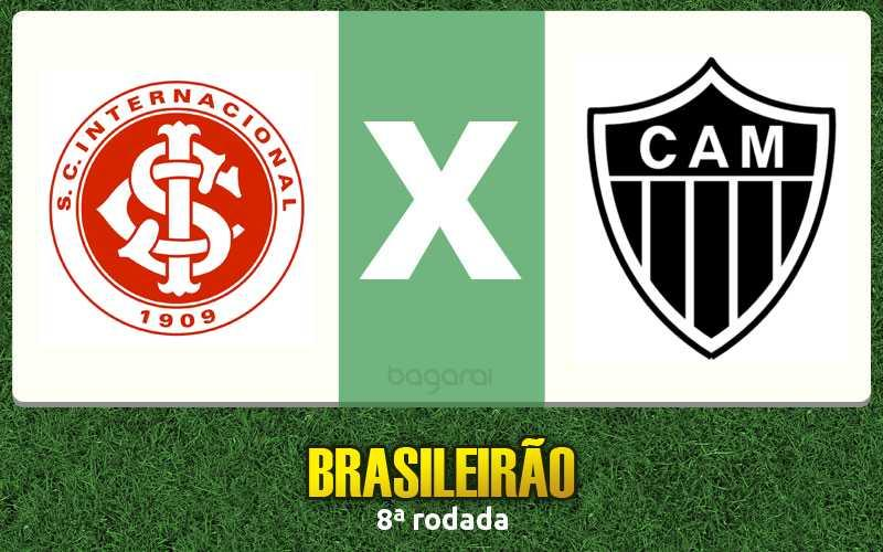 Internacional vence Atlético Mineiro na 8ª rodada do Brasileirão 2016