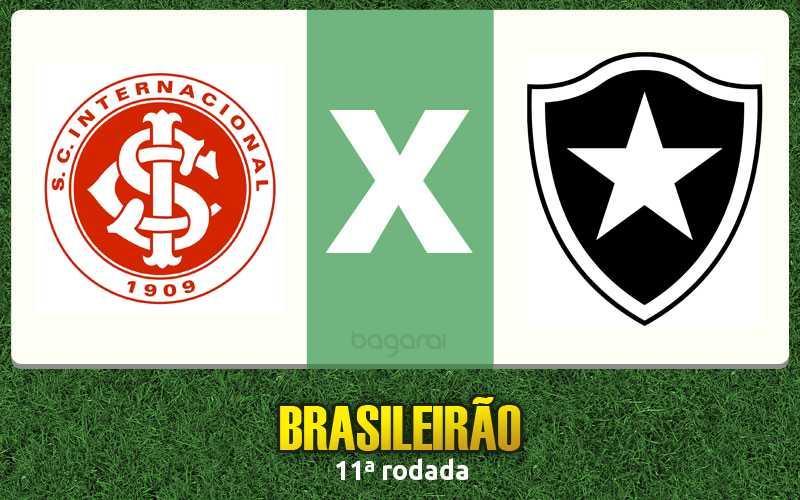 Brasileirão 2016: Botafogo vence Internacional