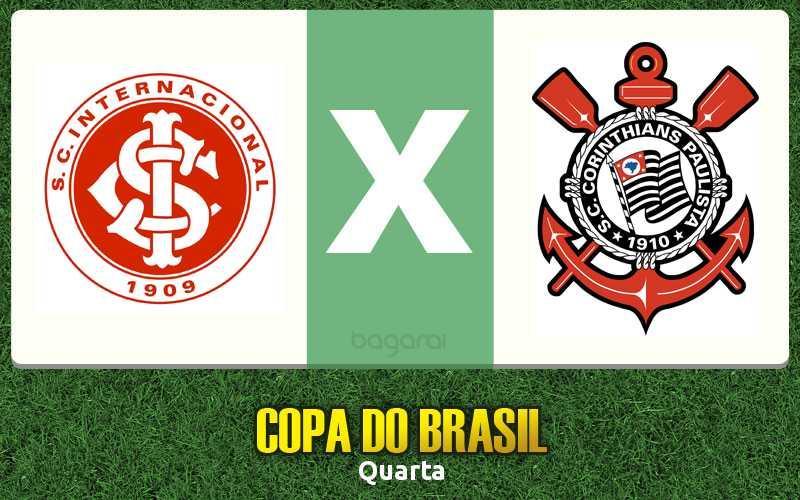 Internacional e Corinthians empatam pela Copa do Brasil 2017