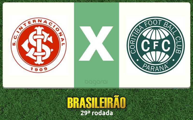 Internacional ganha do Coritiba pelo Brasileirão 2016